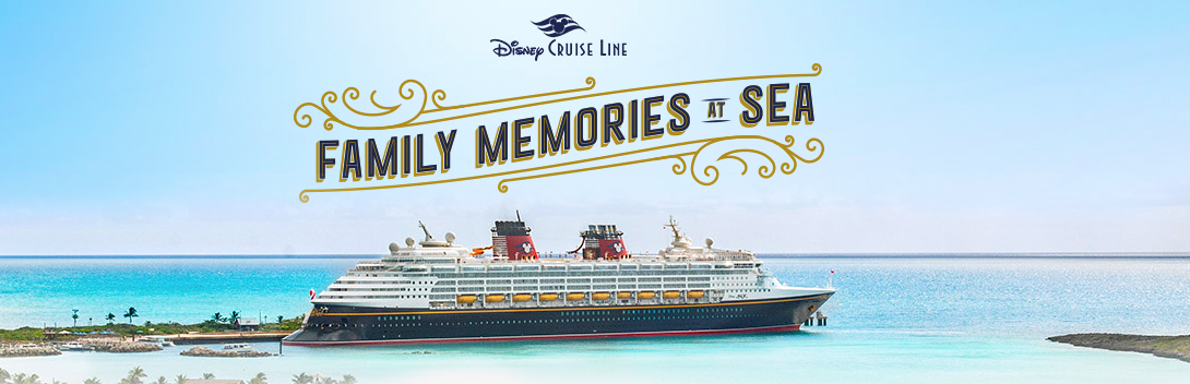 You Can Enter The Disney Cruise Line's Family Memories at Sea Contest!