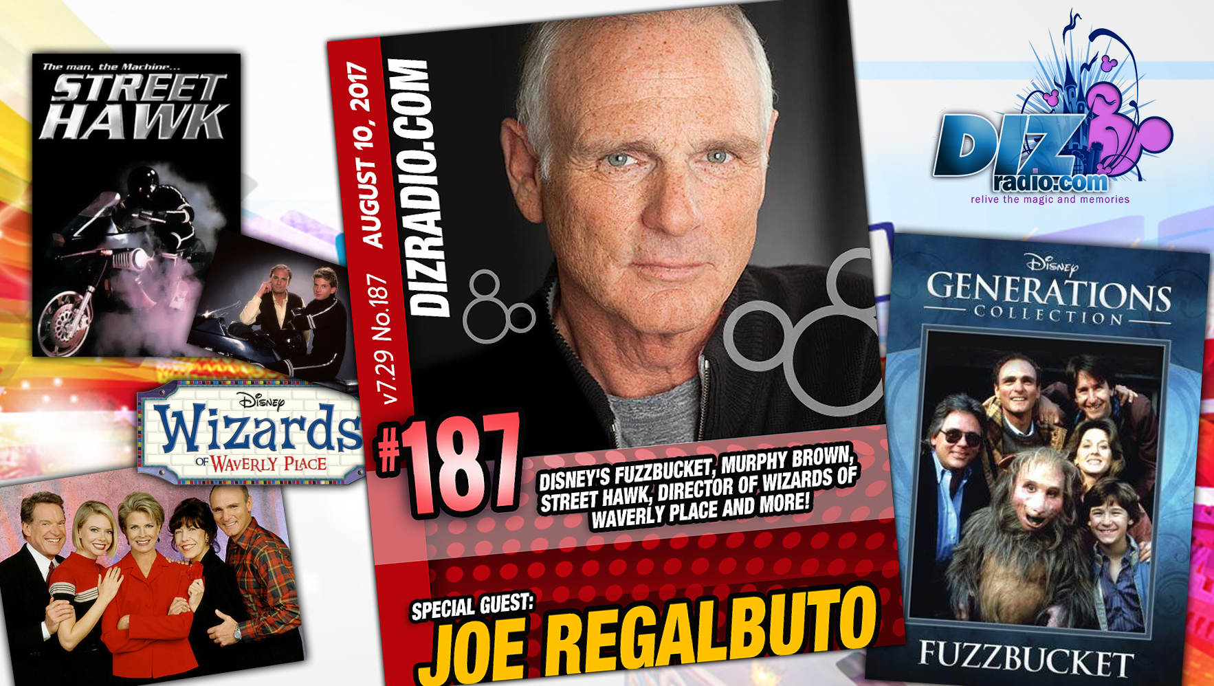 Joe Regalbuto (Fuzzbucket, Murphy Brown, Street Hawk)