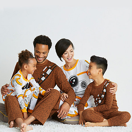 The Whole Family Can Get Into Disney Halloween Fun with Star Wars Pajamas