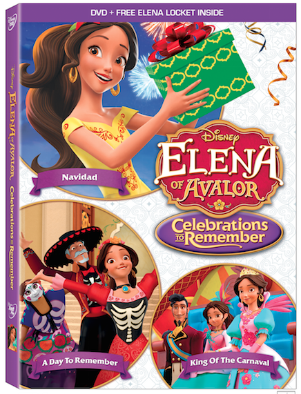 Elena of Avalor: Celebrations to Remember comes to DVD on September 12!
