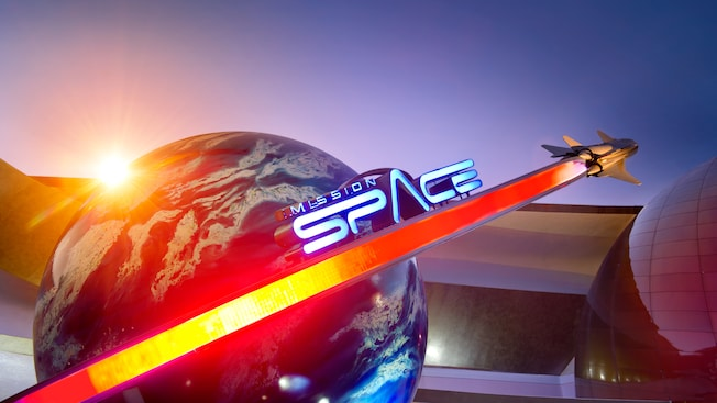 Mission: Space at Walt Disney World's Epcot
