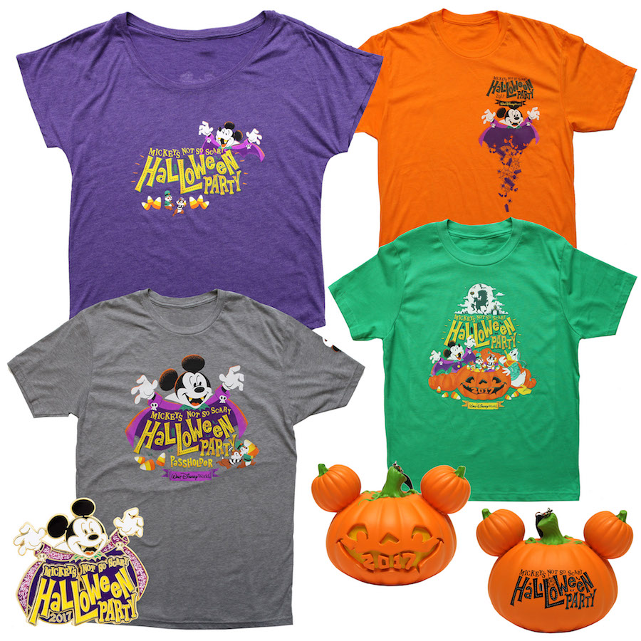Mickey's Not-S-Scary Halloween Party Merchandise 2017