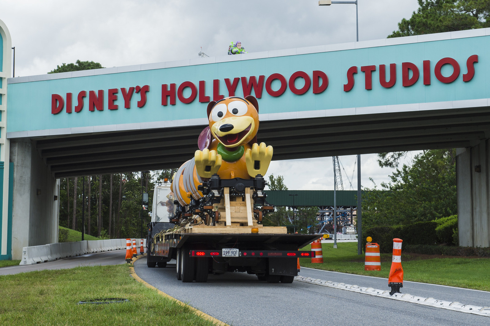 First Slinky® Dog Dash Ride Vehicle Arrives at Disney's Hollywood Studios