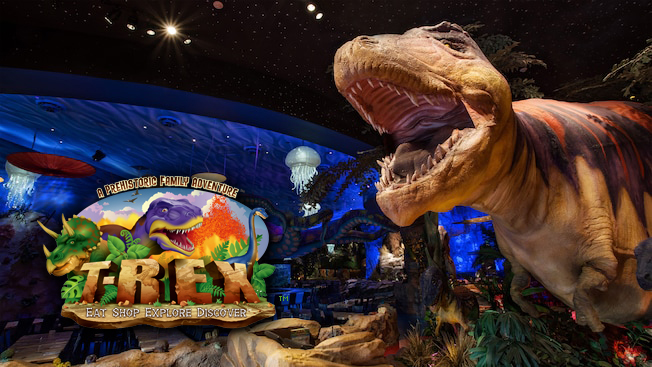T-Rex Cafe at Disney Springs