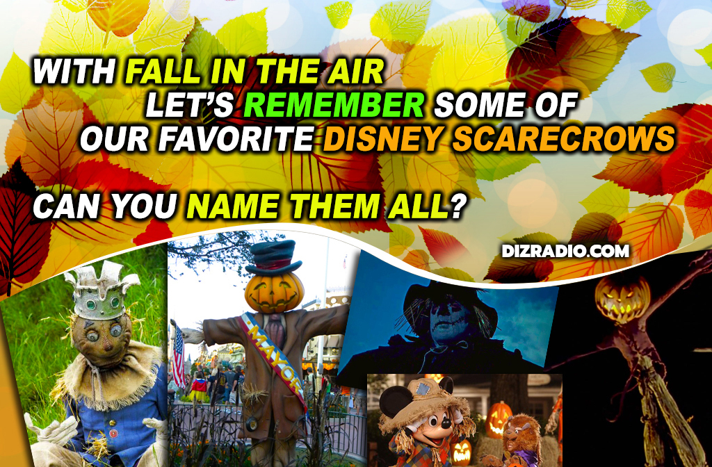 Disney's Favorite Popular Scarecrows
