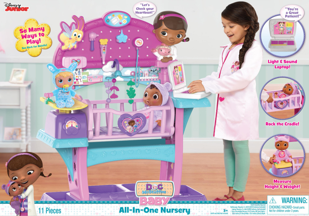 Doc McStuffins All-In-One Nursery by Just Play