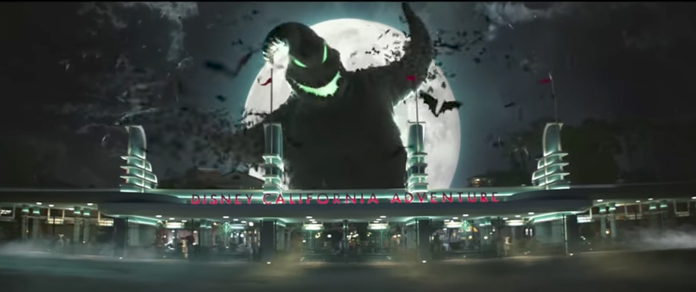 Oogie Boogie Kicks Off Halloween at Disneyland By Casting a Spell!