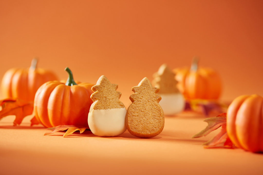 Pumpkin Cookies are the star of Honolulu Cookie Company's Fall 2017 Collection.