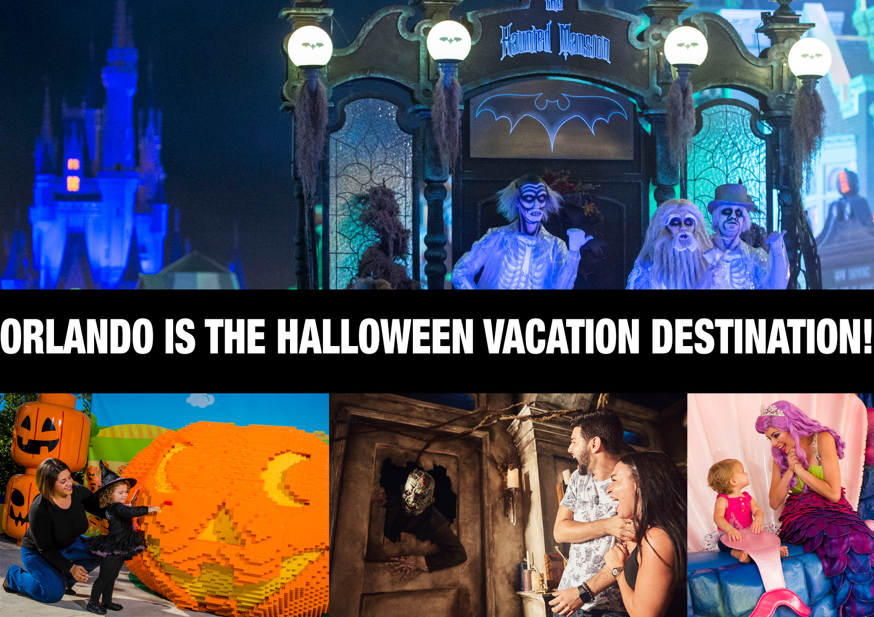 Orlando Moonlights as Halloween Vacation Capital with Disney, Universal, Spooky Empire and More!