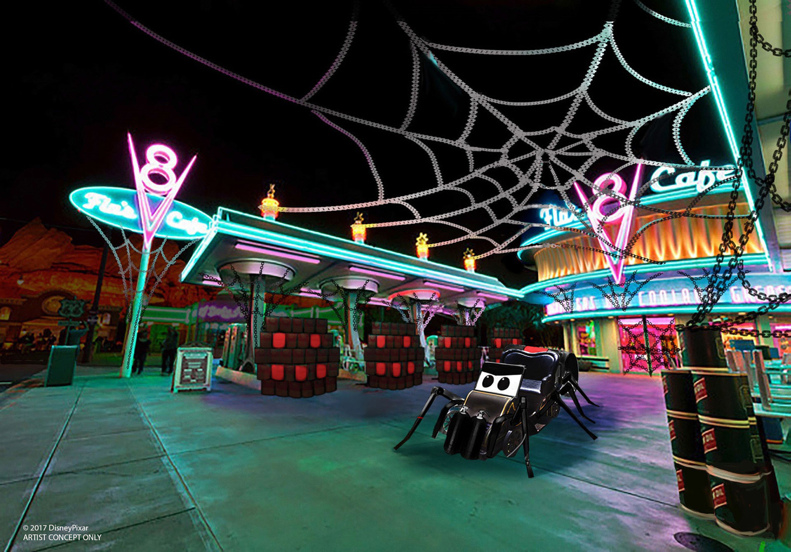 New Halloween Fun, Thrills and Villainous Décor Cast a Spell at Disney California Adventure Park, Sept. 15-Oct. 31