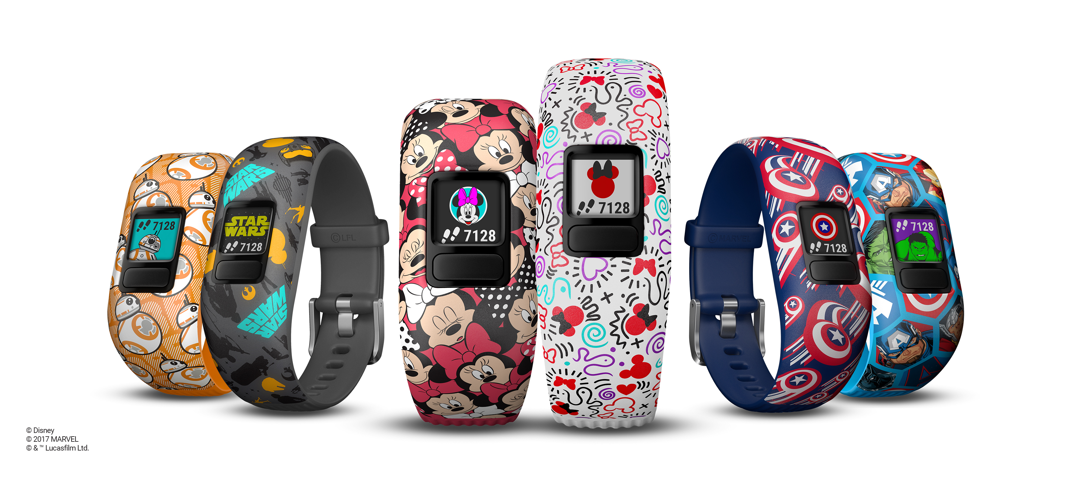 Garmin® and Disney Introduce the vívofit® jr. 2 Activity Tracker for Kids Featuring Disney, Star Wars and Marvel