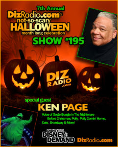 KEN PAGE (Voice of Oogie Boogie in The Nightmare Before Christmas, Cats, Polly, Polly Comin' Home)