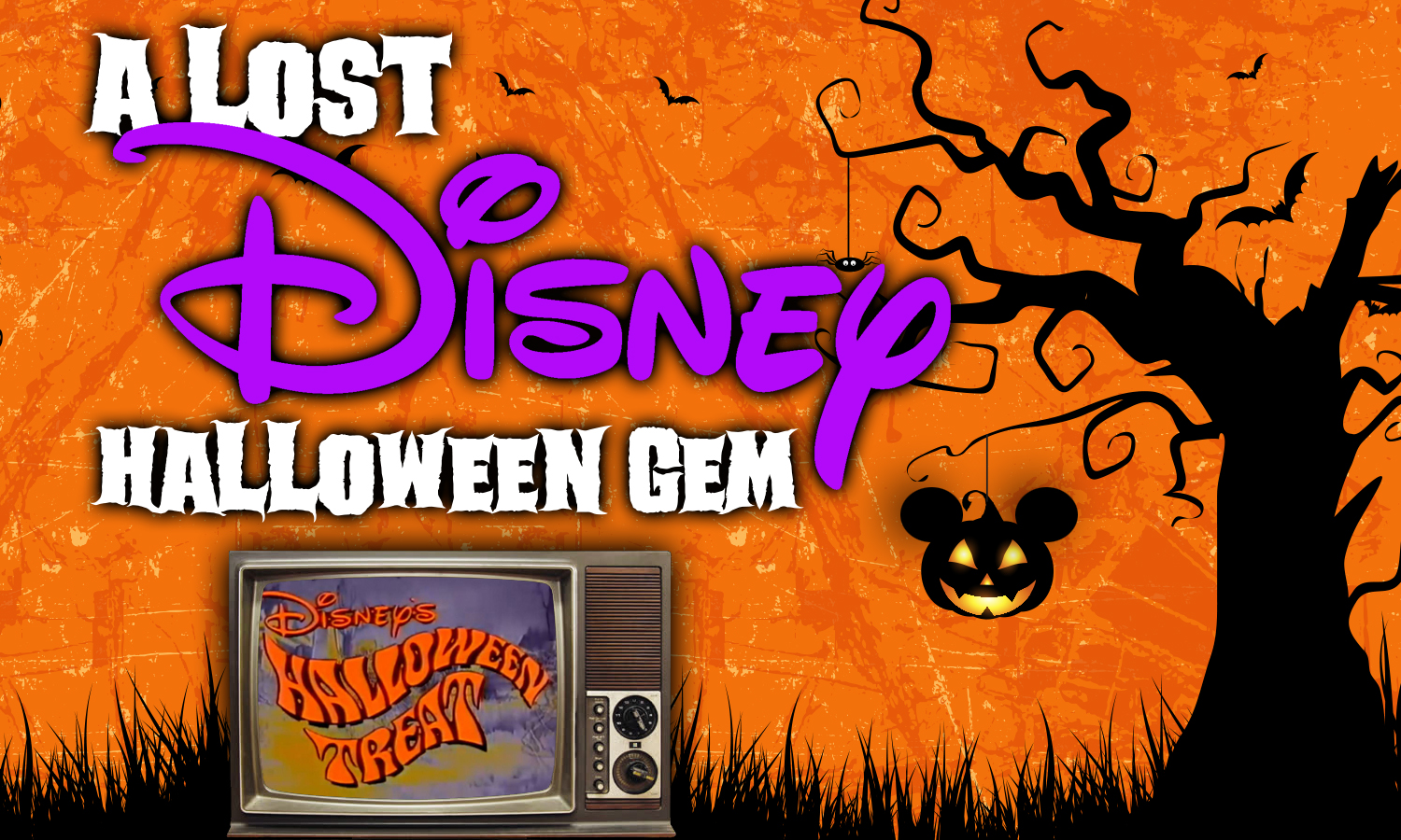 "A Lost Halloween Gem in ""Disney's Halloween Treat"" and ""A Disney Halloween"""