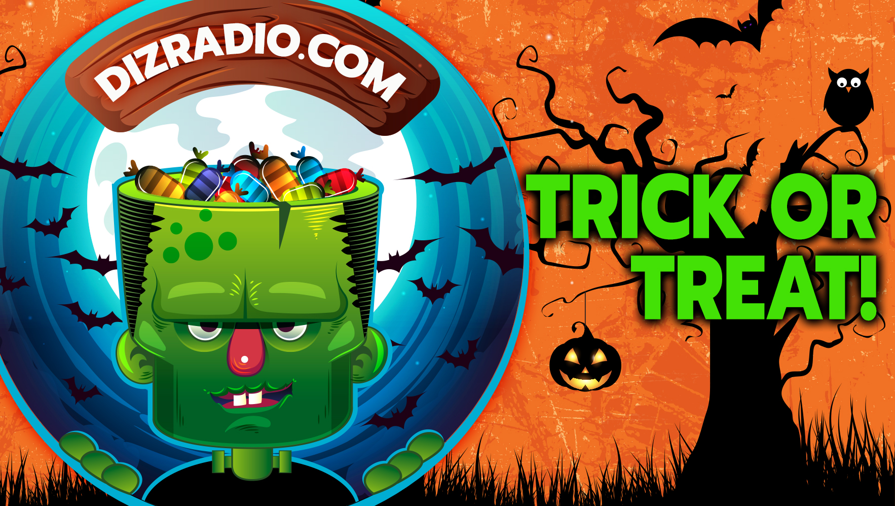Happy HalloWishes from DizRadio! Get Some Halloween Tricks and Treats to Make October 31st Magically Spooky!
