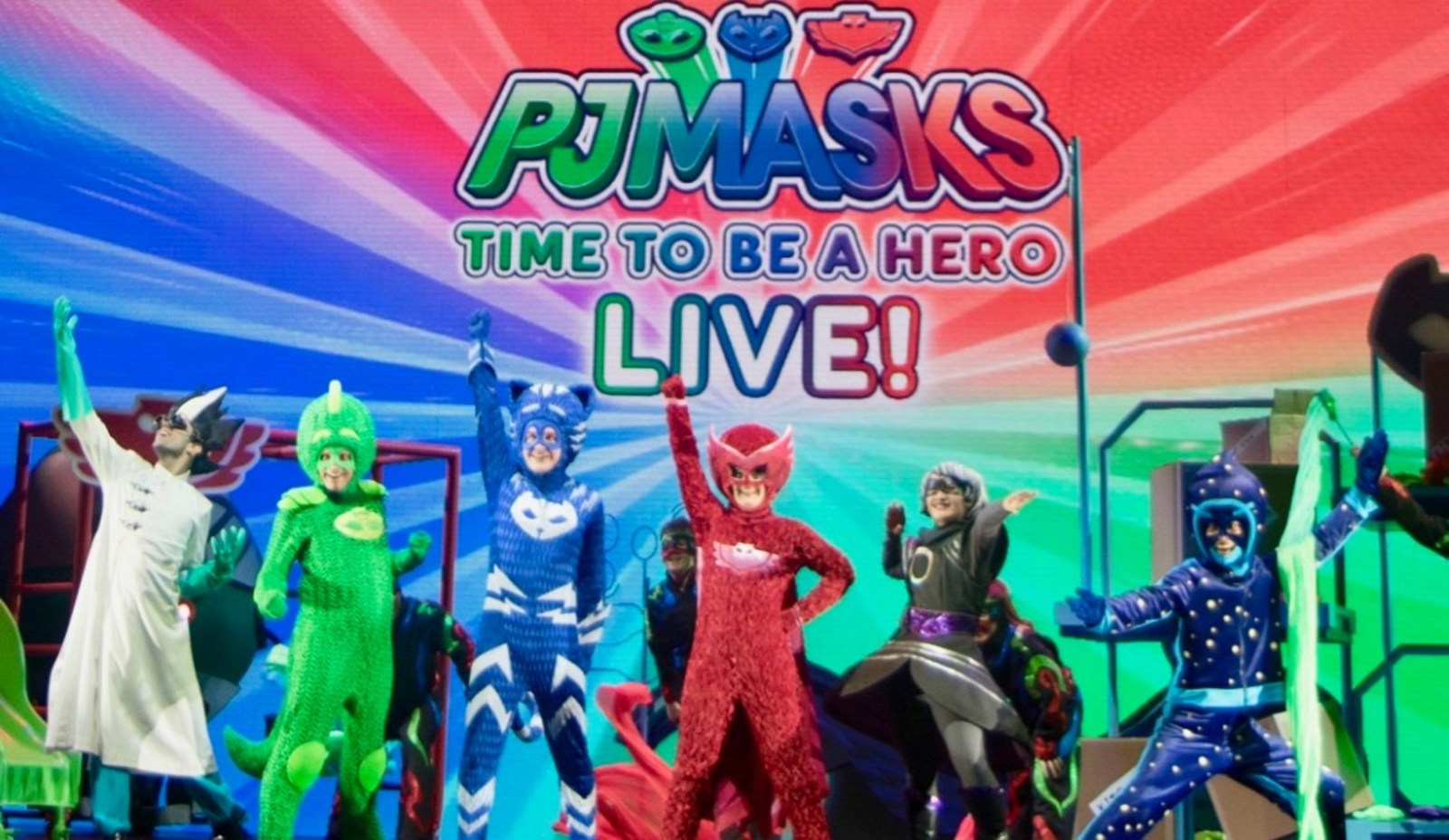 PJ Masks Collects Pajamas for the Pajama Program and PJ Masks Live Continues to Roll With Record-Breaking Sales!