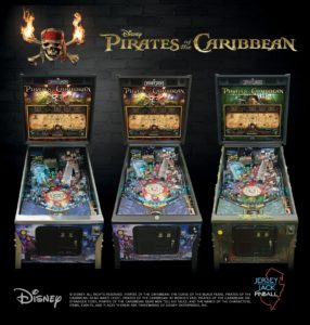 Jersey Jack Pinball releases newest game, Disney's Pirates of the Caribbean, at Pinball Expo 2017.