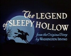 Walt Disney's Legend of Sleepy Hollow Title Card