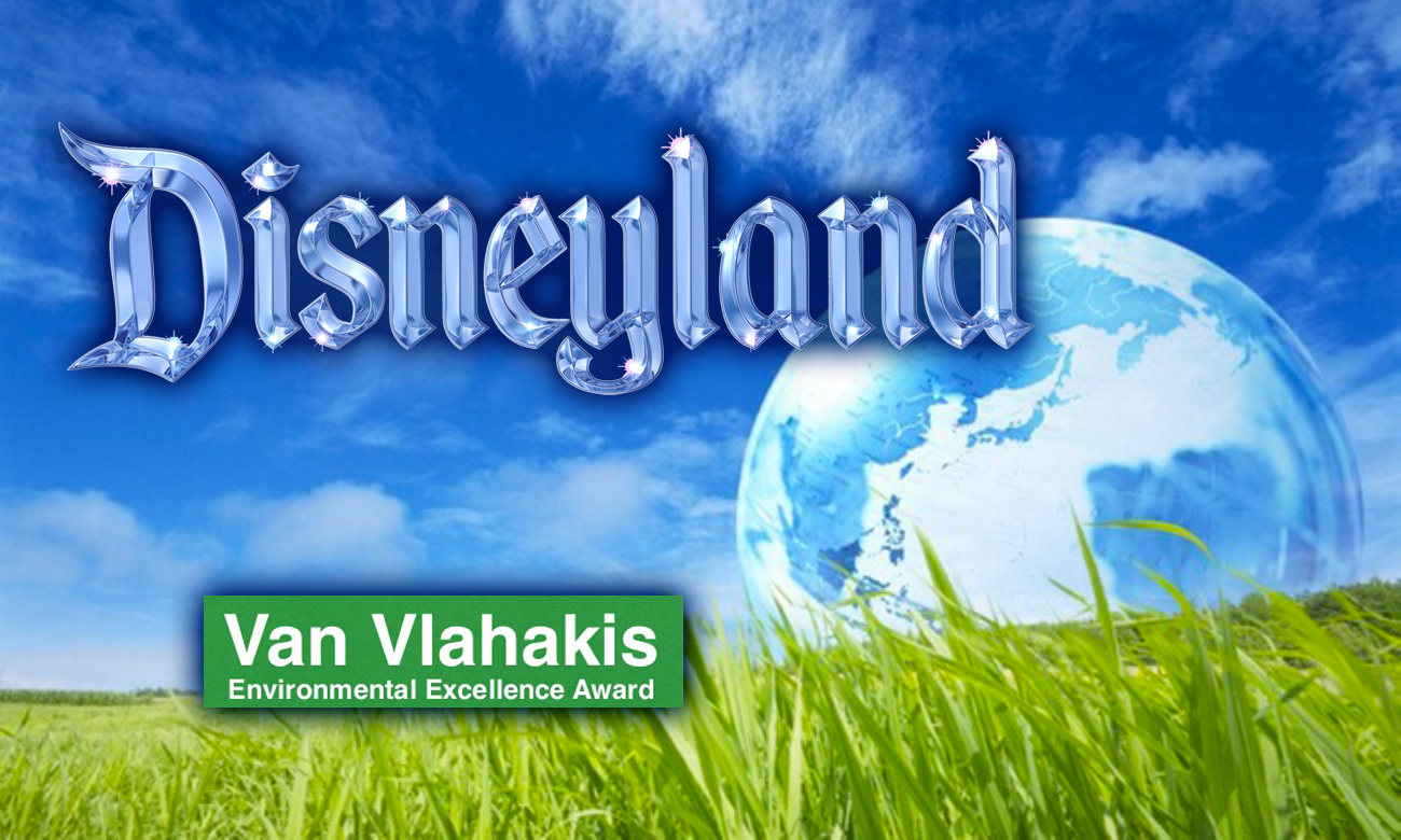 Disneyland Resort Receives 2017 Van Vlahakis Sustainability Excellence Award for Innovative Waste Management