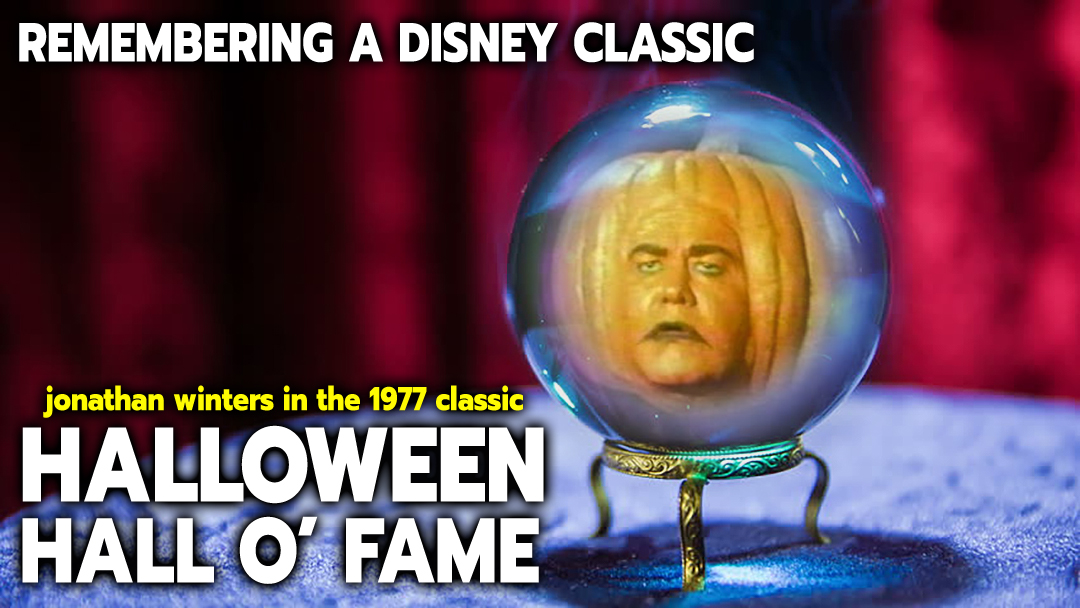 Remembering a Halloween Classic with Jonathan Winters as a Pumpkin Head in Disney's Halloween Hall o' Fame
