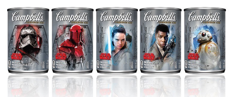 Campbell's Soup Brings the Force to New York Comic-Con With an Exhibit Inspired by Lucasfilm's Star Wars: The Last Jedi