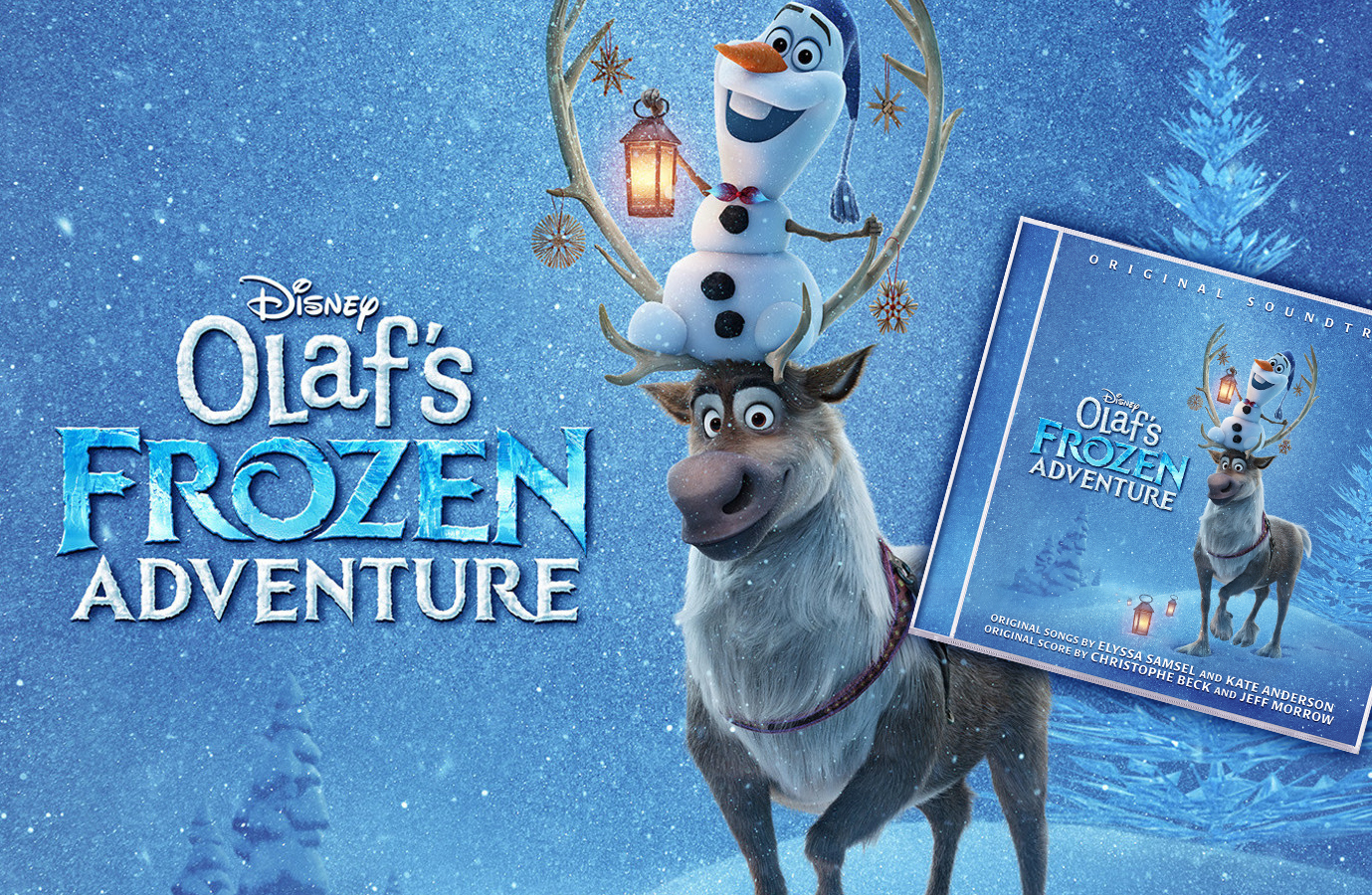 "Four Original Songs Featured In New Animated Featurette ""Olaf's Frozen Adventure"""