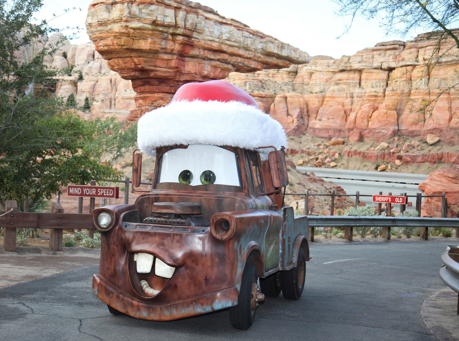 The Holidays Begin Here: Disneyland Resort Celebrates Joyful New Fun at Cars Land, Plus Festival of Holidays