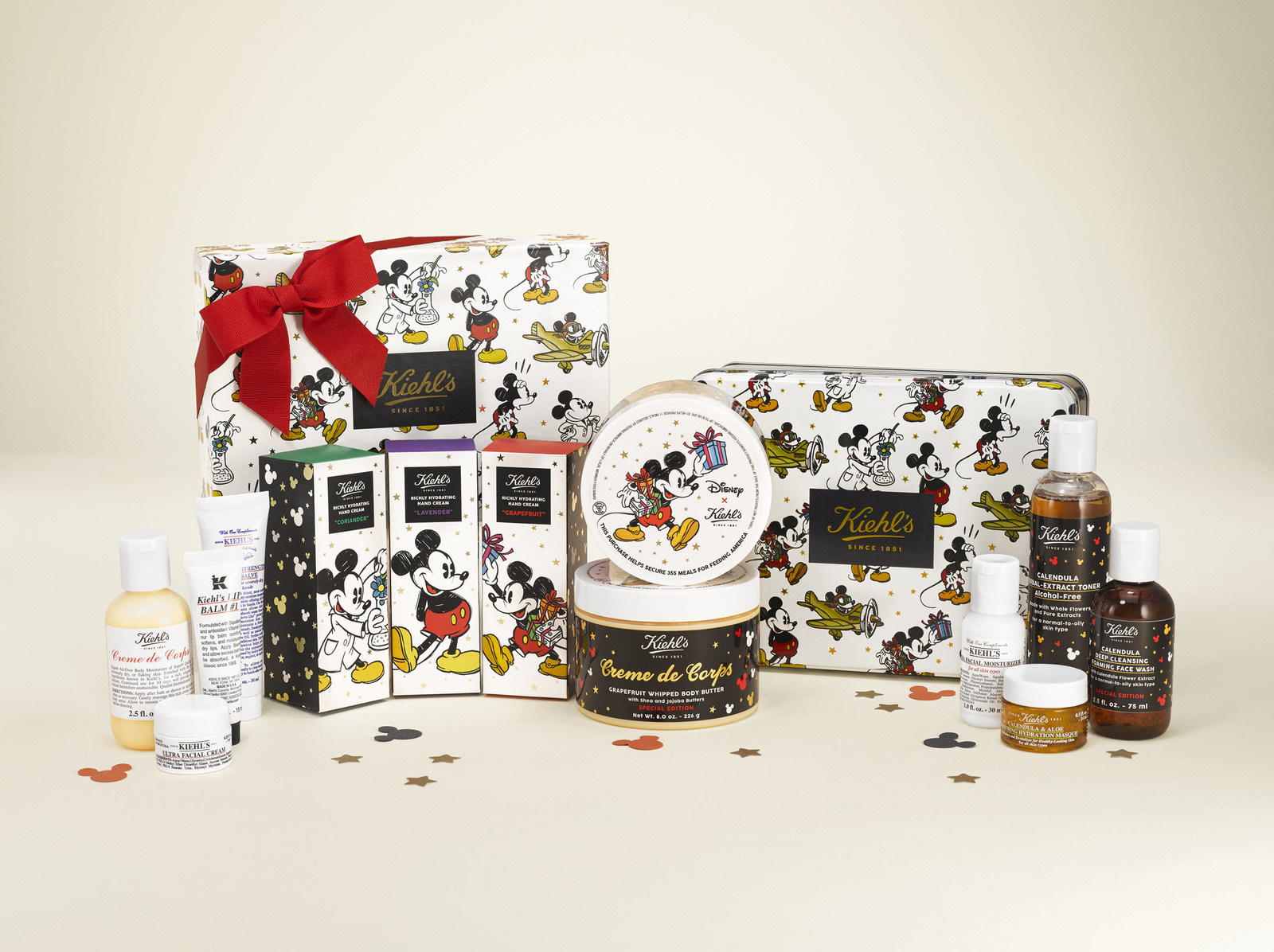 Select items from the Disney x Kiehl's collection will make up Kiehl's 9th Annual Limited Edition Charitable Holiday