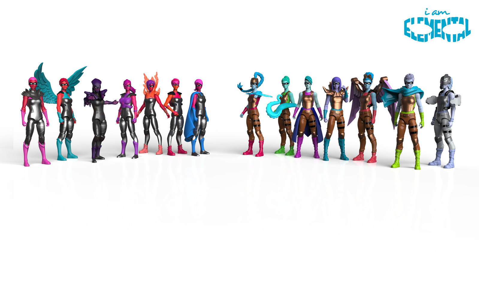 The Jim Henson Company to Develop Kids Series Based on IamElemental's Female Action Figures
