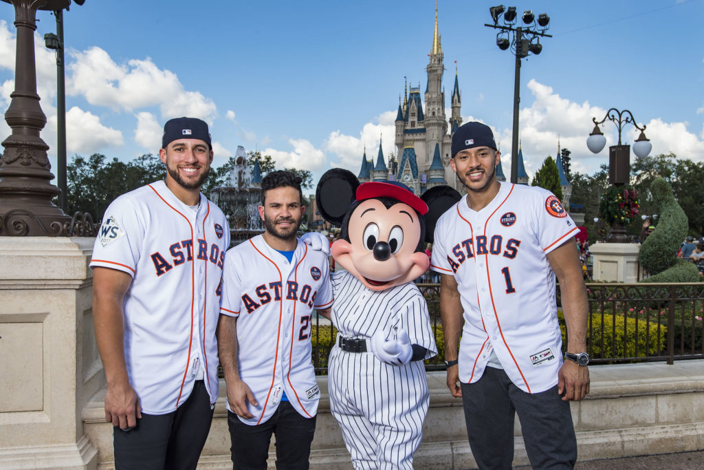 """Going to Disney World!"" Houston Astros Players Celebrate Team's First-Ever World Series Title with Victory Parade at Walt Disney World Resort"