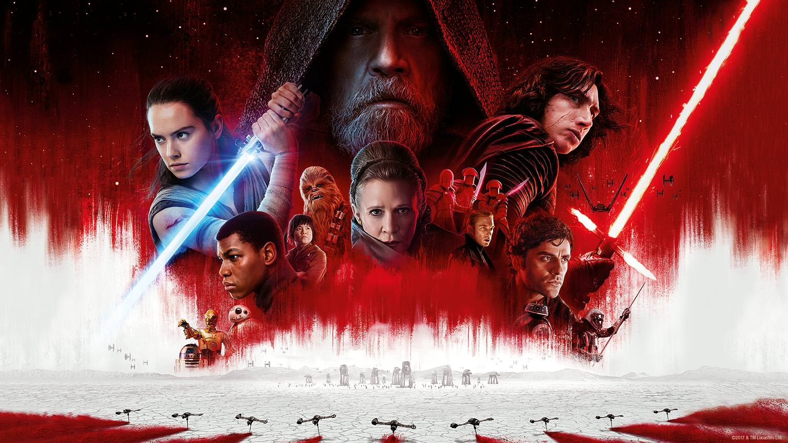 Star Wars: The Last Jedi In Theaters Now