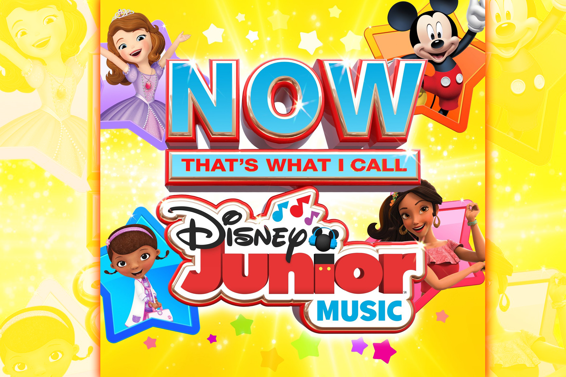 ALL NEW Collection Of Disney Music Favorites, 'Now That's What I Call Disney Junior Music'
