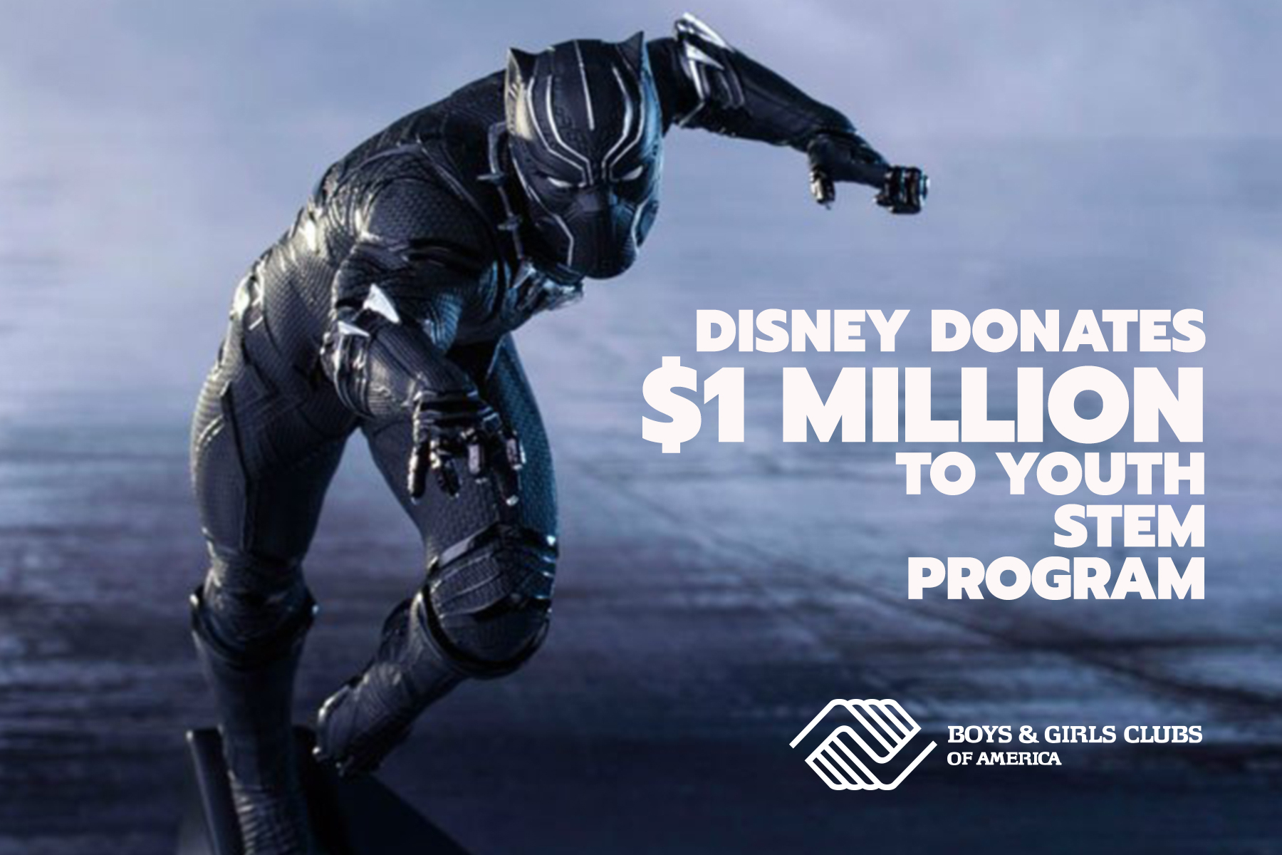 Disney Donates $1 Million to Youth STEM Program in Celebration of BLACK PANTHER