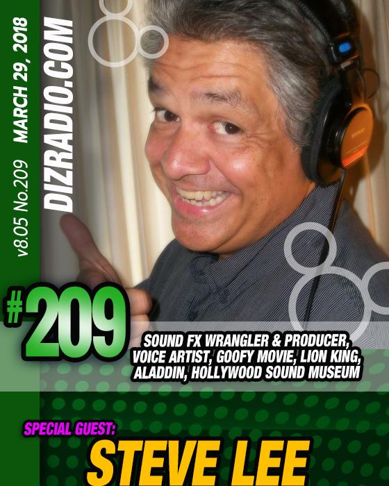 DisneyBlu's DizRadio Disney on Demand Podcast Show #209 w