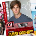 DisneyBlu's DizRadio Disney on Demand Podcast Show #207 w/ Special Guest JAMES GODFREY (Disney's ZOMBIES, Disney's The Swap, Shadowhunters, Sketch Comedian)