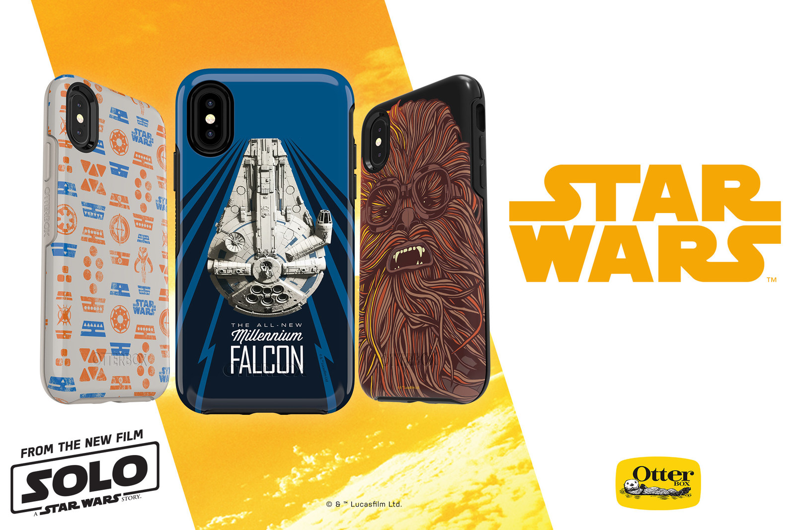 Newly Smuggled Protection: Solo: A Star Wars Story Symmetry Series Cases Released