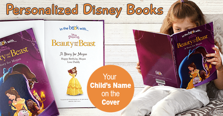 Personalized Disney Books for Kids Puts Them Right in the Action Saving the Day With Their Favorite Characters They Know and Love