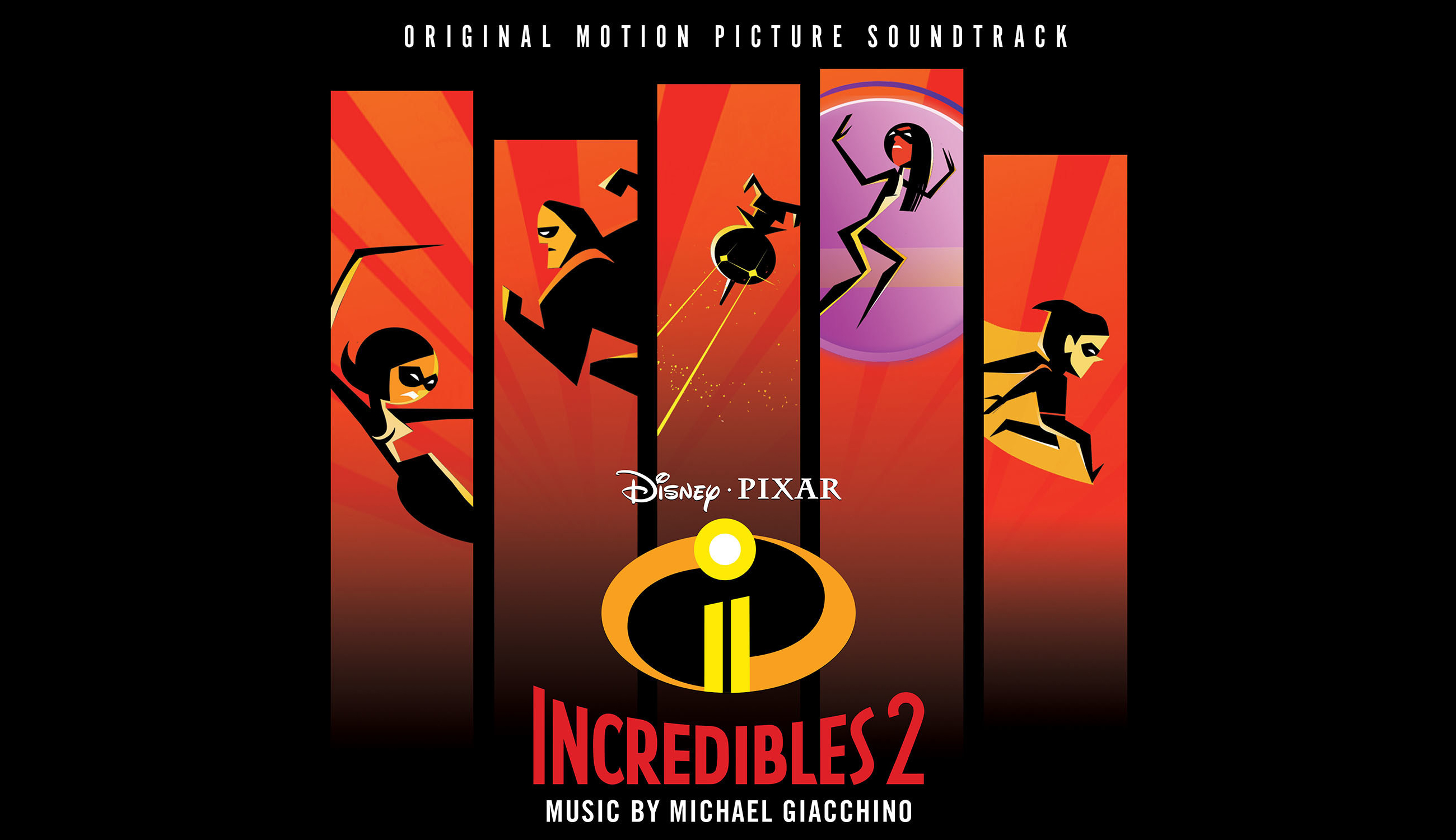 Disney•Pixar's Incredibles 2 Soundtrack Featuring Score By Oscar-Winning Composer Michael Giacchino Available