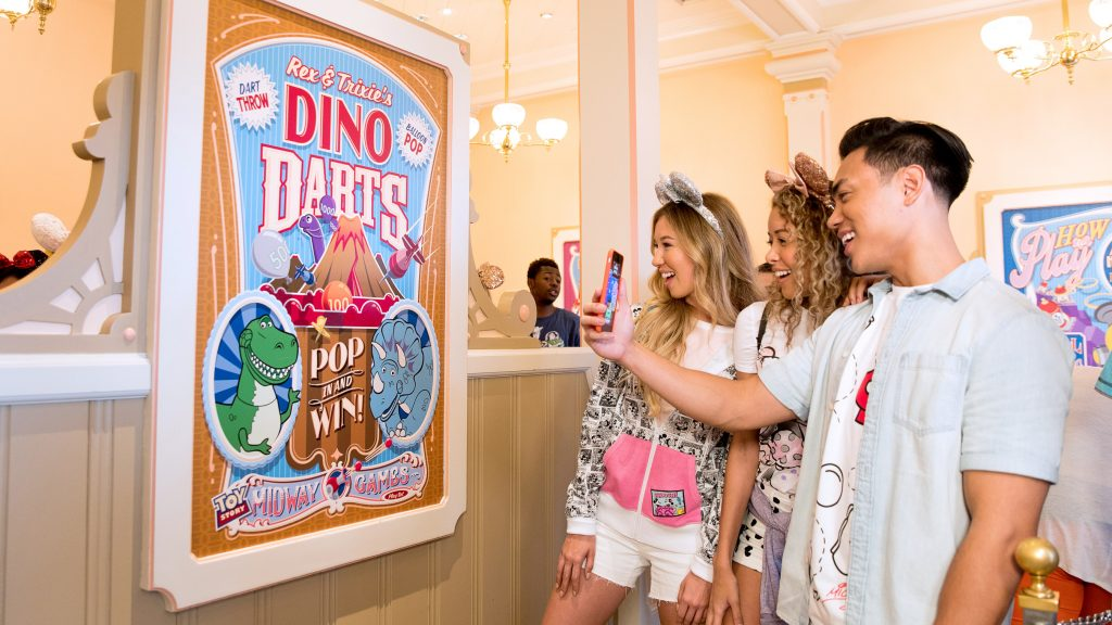 Guests can explore the Disney theme parks like never before with the Play Disney Parks mobile app, a transformative new digital entertainment offering