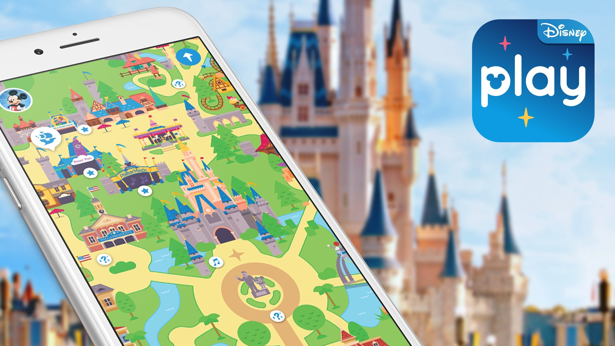 First-Of-Its-Kind 'Play Disney Parks' Mobile App Debuts at Walt Disney World Resort and Disneyland Resort