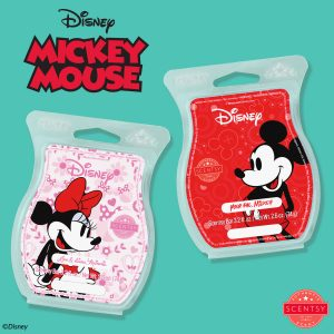 Mickey Mouse and Minnie Mouse - Scentsy Bars