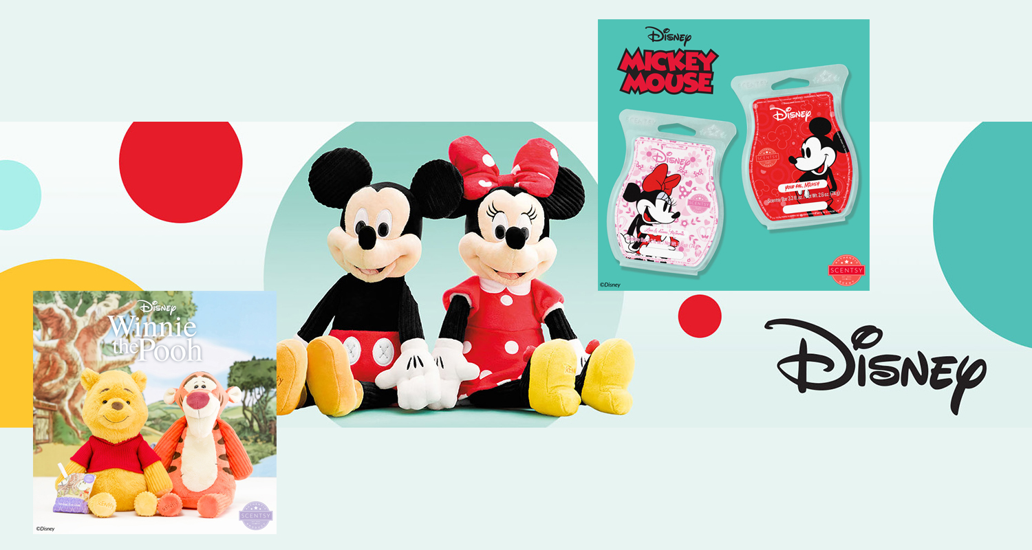 Disney and Scentsy Collaborate for Fragrance Collection
