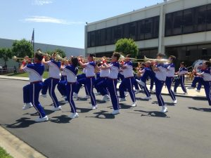 Disneyland Resort All-American College Band Inspires with Performance at Company's Buena Park Headquarters