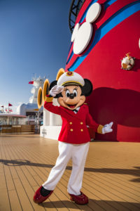 Disney Cruise Line and Captain Minnie Mouse Inspire Next Generation of Female Ship Captains