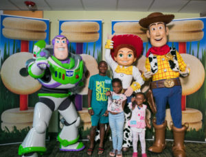 Children's Hospital Toy Drive from Walt Disney Company in Honor of Toy Story 4