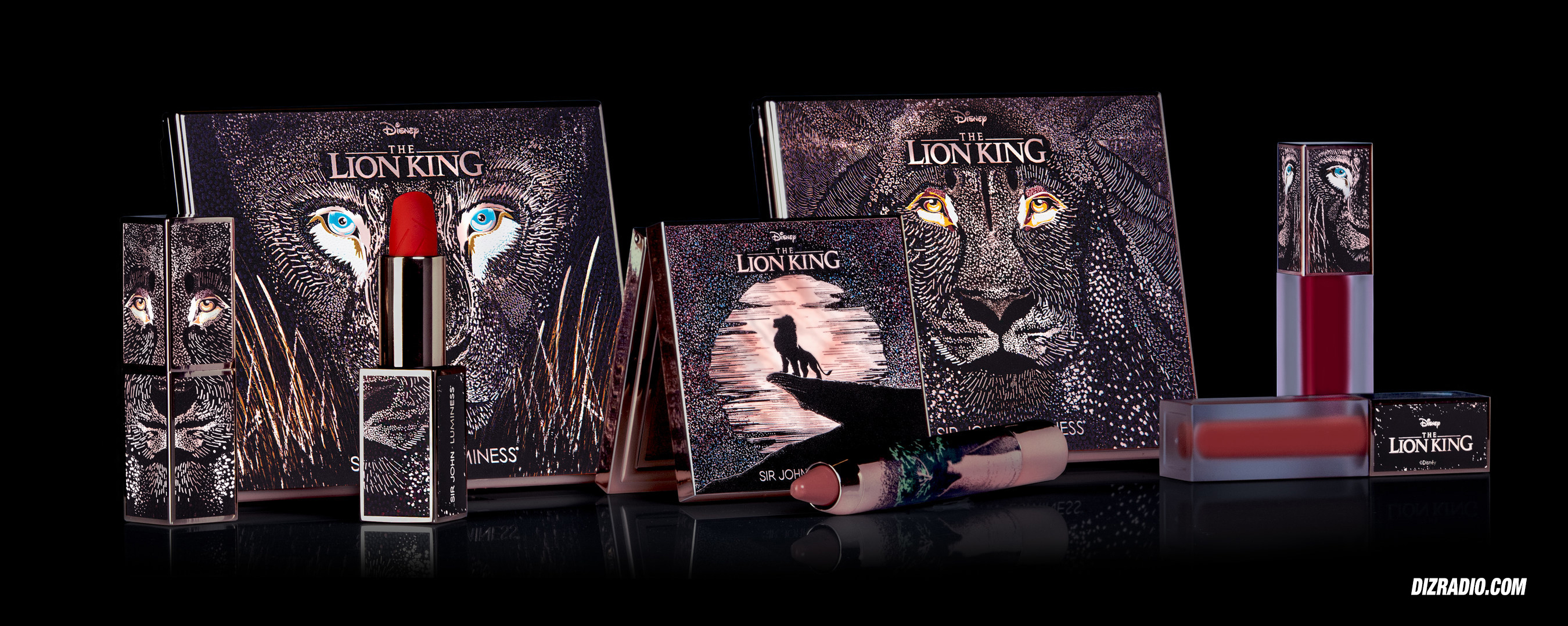 Disney's The Lion King Limited Edition Cosmetic Collection By Sir John X Luminess Launches June 15, 2019