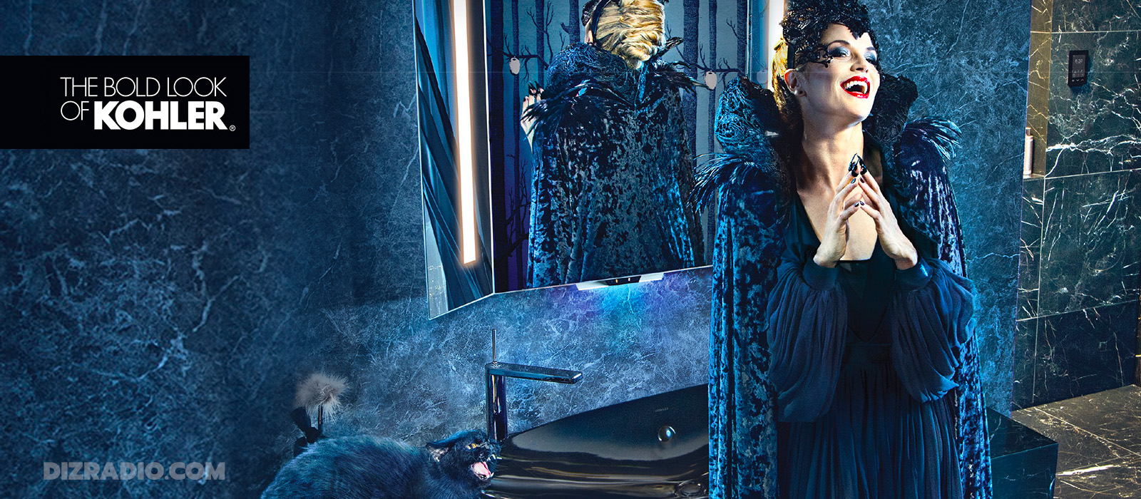 "Kohler Co. And Disney Team Up On ""Maleficent: Mistress Of Evil"" Voice Lighted Mirror!"
