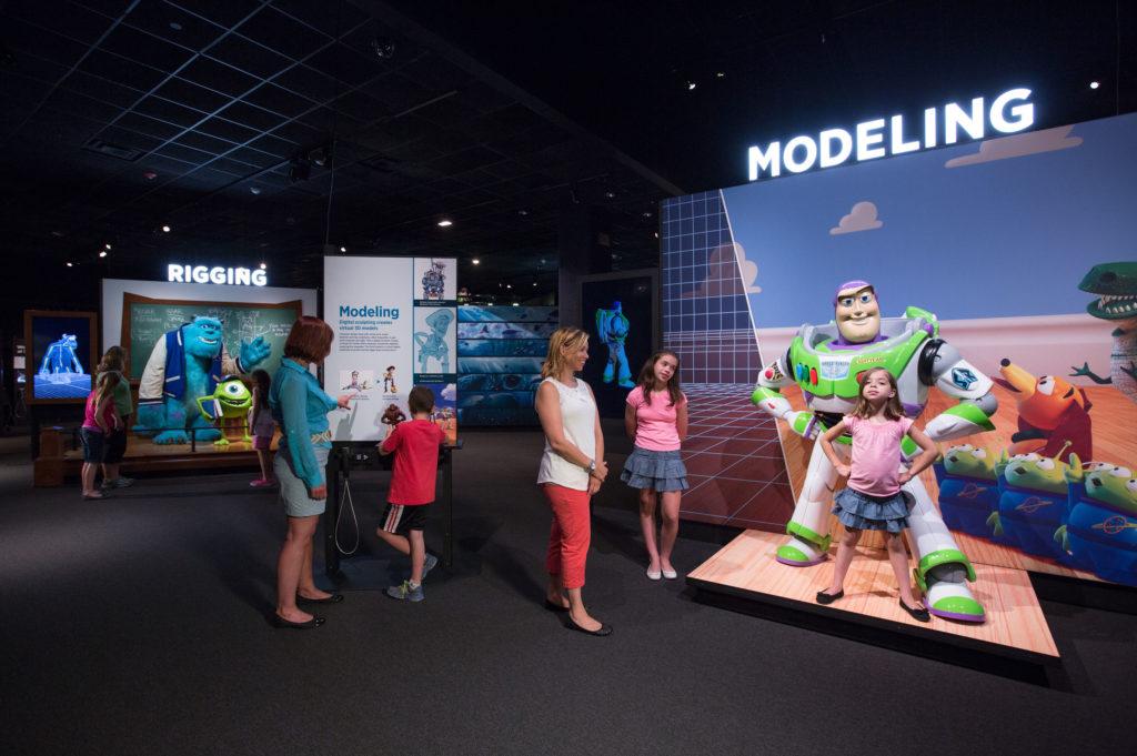 The Science of Pixar Exhibit