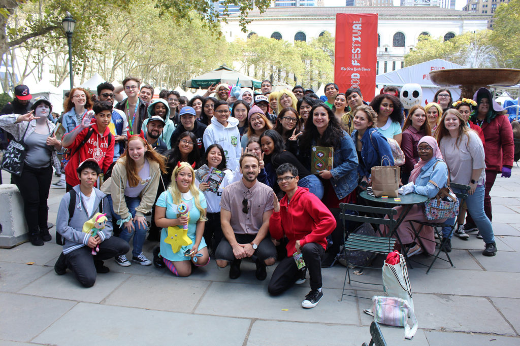 Adam McArthur (Star vs. The Forces of Evil) hosts his 1st Annual New York Comic-Con Super Awesome Boba Fan Meetup! Photo: Percy Rose Photography (@percograph)