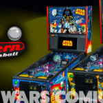 Stern Pinball Announces New Star Wars™ Comic Art Pro and Premium Edition Pinball Machines