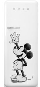 SMEG and Disney Launch Special Edition Refrigerator, Mark First U.S. Partnership